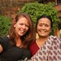 Kiki and Anuradha in Nepal