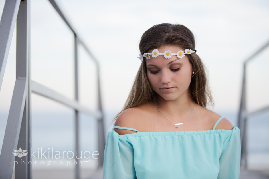 Kennebunk Senior Girl Portrait