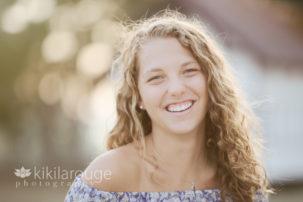 High School Senior Portrait Plum Island