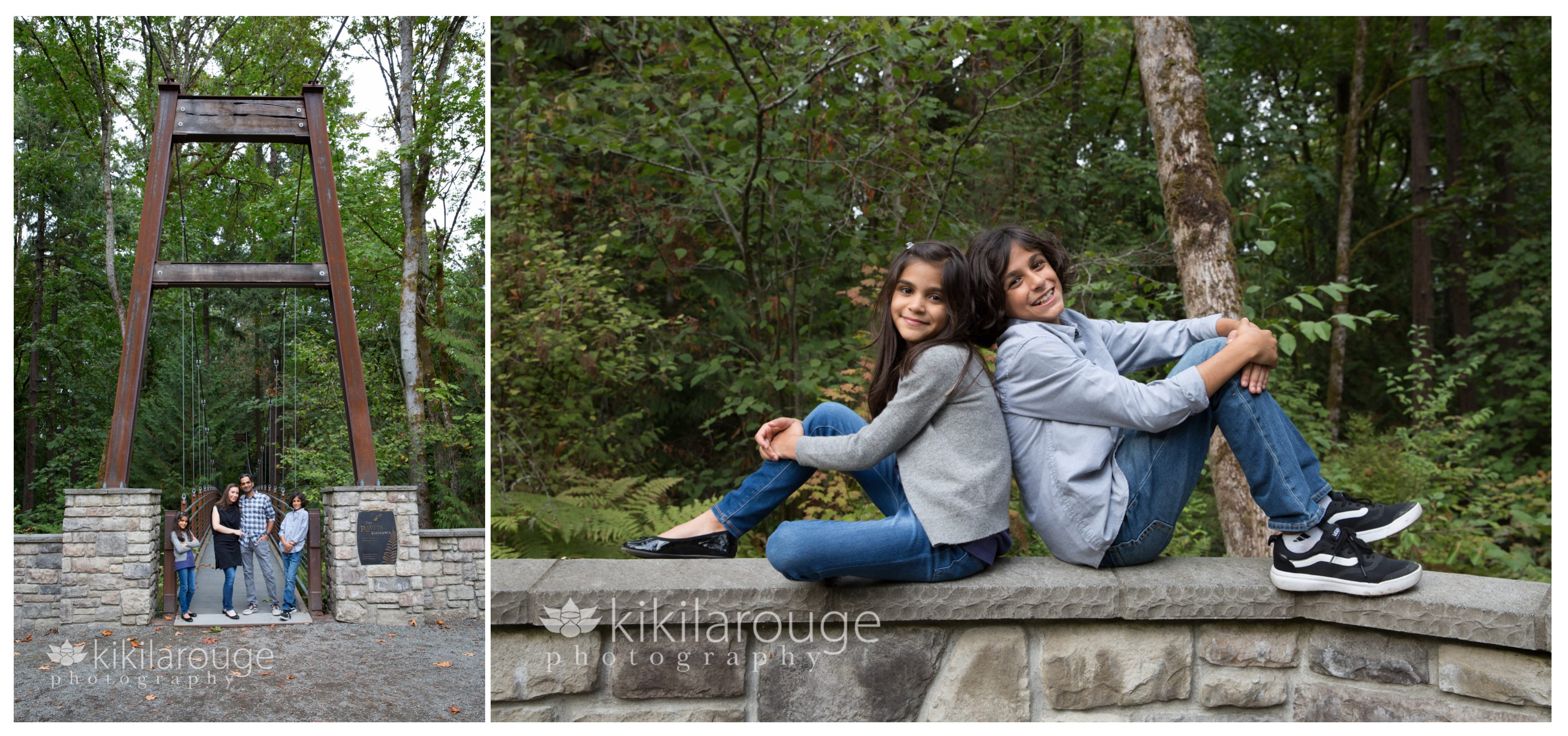 Seattle Family Photographer ~ Bellevue Botanical Gardens